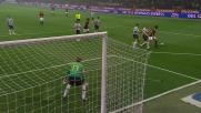 Ronaldinho serve Borriello con un colpo di tacco