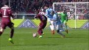 Marchetti in uscita blocca il tiro di Immobile e salva la Lazio contro il Torino