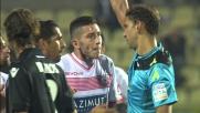 La follia di Lollo lascia in dieci il Carpi: tackle durissimo contro il Bologna!
