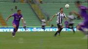 Di Natale, gran controllo e giocata al volo contro la Fiorentina