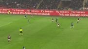 Kucka è inarrestabile nel derby e spaventa la difesa dell'Inter con un tiro-cross