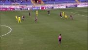 Paloschi scatta sul filo del fuorigioco e segna il primo goal della sua giornata contro il Genoa