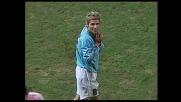 Behrami allarga il braccio su Di Michele: severa espulsione diretta per la Lazio