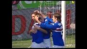 Il goal di Bonazzoli chiude la pratica Livorno, Sampdoria avanti 2-0