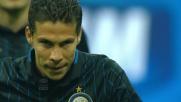 Diego Lopez si tuffa e toglie dall'incrocio il sinistro di Hernanes