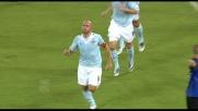 Rocchi segna il goal con freddezza davanti a Consigli