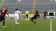 Cuadrado supera in dribbling tre avversari del Cagliari