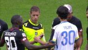 Fallo a gamba tesa di Felipe, l'Udinese protesta