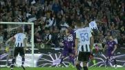 Zapata di testa sblocca la sfida tra Udinese e Fiorentina