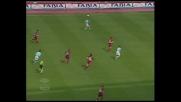 Padalino atterra Cesar, penalty per la Lazio