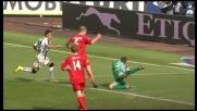 Padelli salva il Bari su uno scatenato Alexis Sanchez