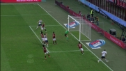 Palacio a un passo dal goal per il Genoa in casa del Milan, incredibile palo!