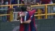 Palacio di testa segna il goal vittoria del Genoa a Marassi
