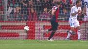 Palacio è il più furbo di tutti e segna il goal dell' 1a 0 al Marassi contro il Catania