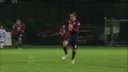 Palacio in contropiede sigla il goal del 2 a 0 contro il Siena