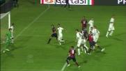 Palacio porta in vantaggio il Genoa al Rigamonti