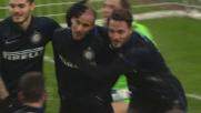Palacio si sblocca: suo il goal che stabilisce la parità a San Siro