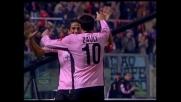 Palermo show, Zauli firma il vantaggio sul Cagliari