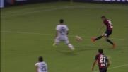 Palla appena lunga per Ocampos, il goal sfuma in Genoa-Cagliari
