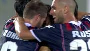 Palladino firma il primo storico goal del Crotone in serie A