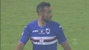 Pallonetto di Quagliarella, mira sbagliata contro il Genoa