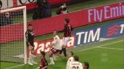 Palo a gioco fermo di Pato contro il Torino