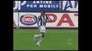 Palo clamoroso di Zebina in Udinese-Juventus!