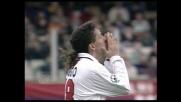 Palo da posizione impossibile per Roberto Baggio