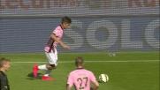 Palo di Rispoli contro l'Udinese