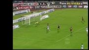 Palo di Sanchez contro il Milan