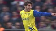 Paloschi segna il terzo goal del Chievo Verona sul Genoa