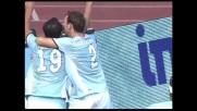 Pandev firma il raddoppio della Lazio sulla Sampdoria con un goal di pura potenza