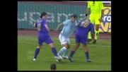Pandev ruba palla a Montolivo e supera Melo ma il suo cross è senza fortuna
