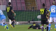 Pandev segna un goal splendido all'Udinese