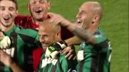 Paolo Bianco saluta i compagni del Sassuolo