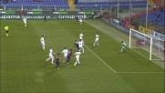 Paolo Bianco usa le maniere forti con Gilardino: rigore per il Genoa