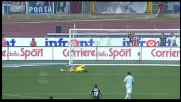 Papera di Muslera nel match fra Lazio e Palermo