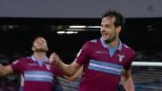 Parolo porta in vantaggio la Lazio con un goal da fuori area