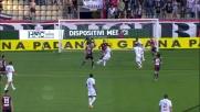 Pasciuti realizza il goal del 3-1 con un bel sinistro di prima intenzione contro il Genoa