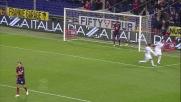 Pasqual segna il goal vittoria della Fiorentina contro il Genoa