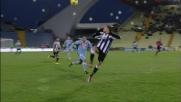 Passaggio spettaccolare col tacco di Sanchez in Udinese-Napoli