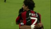 Pato firma la doppietta personale contro il Lecce a San Siro