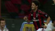 Pato porta in vantaggio il Milan sul Lecce con un diagonale vincente
