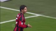Pato realizza di testa il goal del vantaggio a San Siro contro il Palermo