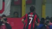 Pato realizza un gran goal al volo e porta avanti il Milan sul Chievo