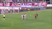 Paulinho beffa Agazzi e realizza il calcio di rigore