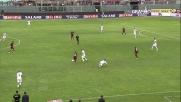 Paulinho in area non perdona e porta in vantaggio il Livorno
