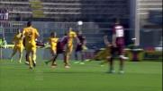 Paulinho realizza il goal che chiama alla riscossa il Livorno al Picchi