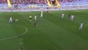 Pavoletti in scivolata manca la deviazione vincente contro la Fiorentina