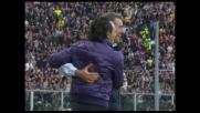 Pazzini chiude i conti e firma il goal del 3-0 per la Fiorentina con il Genoa